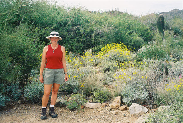 Diane at Sonoran Desert Museum