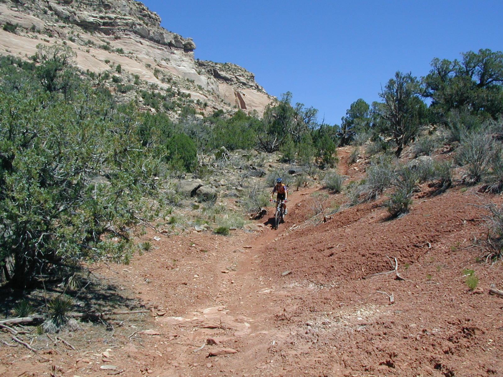 Biking Sand Canyon
