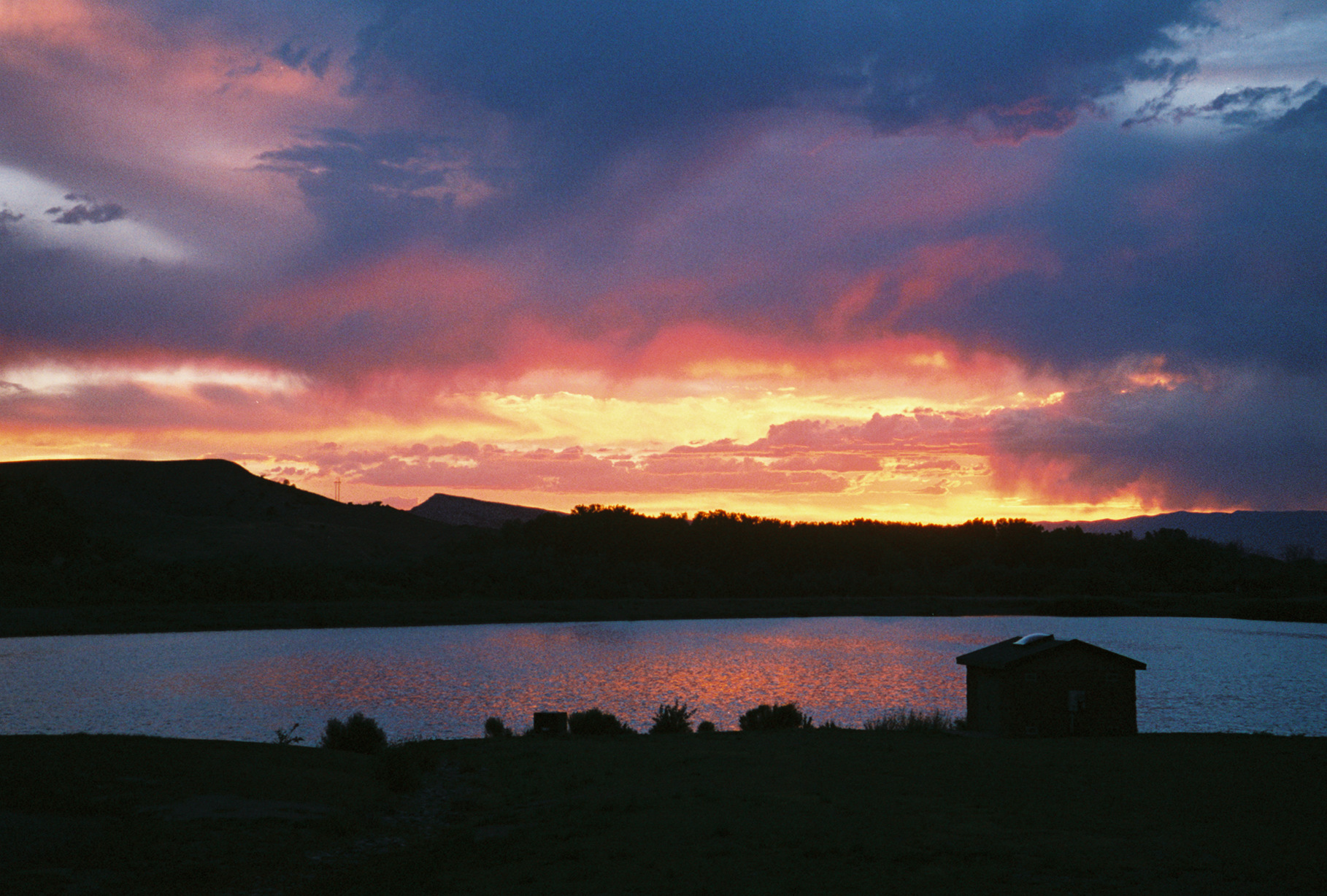 Sunset at Colorado River SP