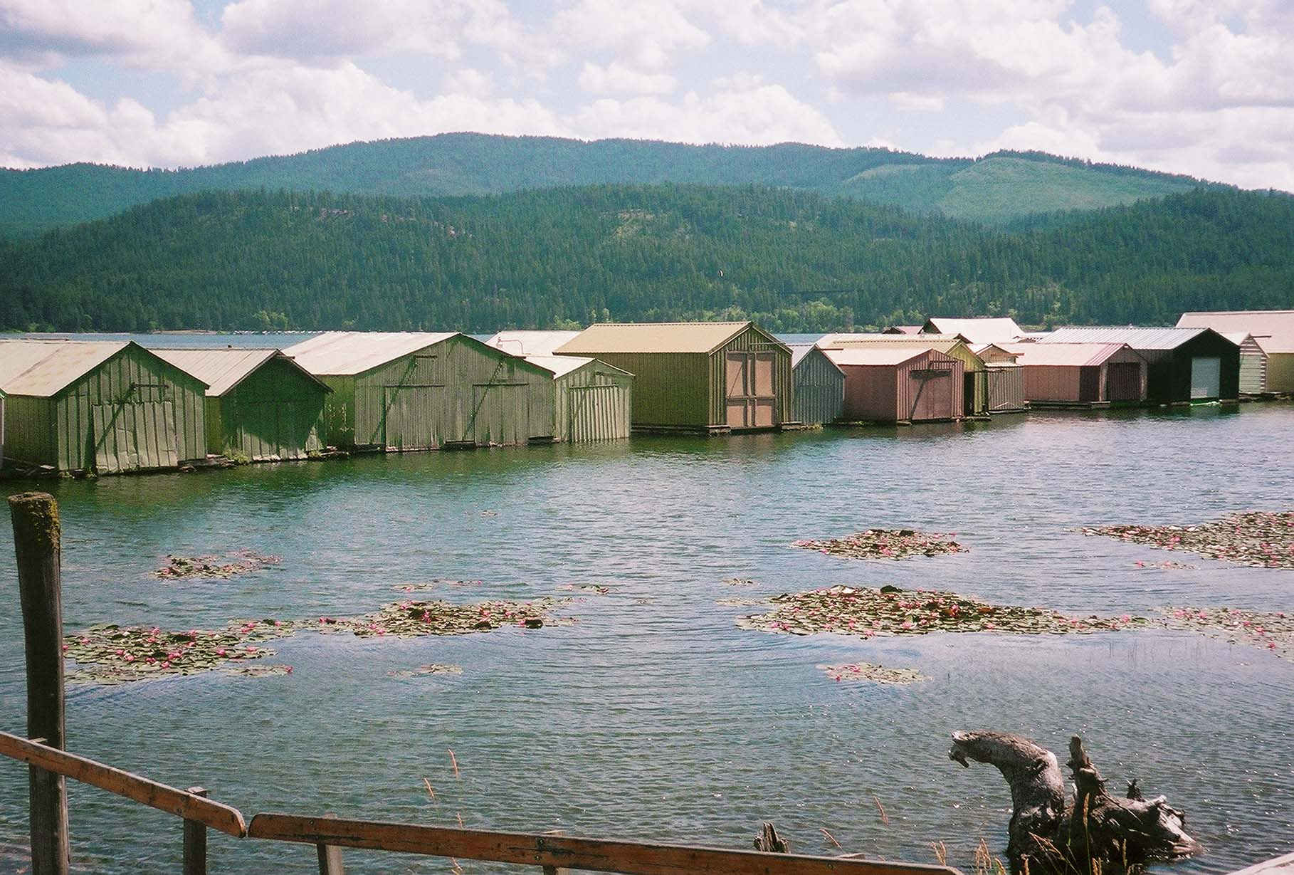 Boat Houses on the Trail