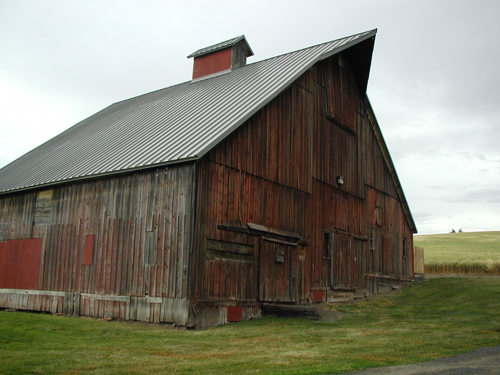 A Big Red Barn