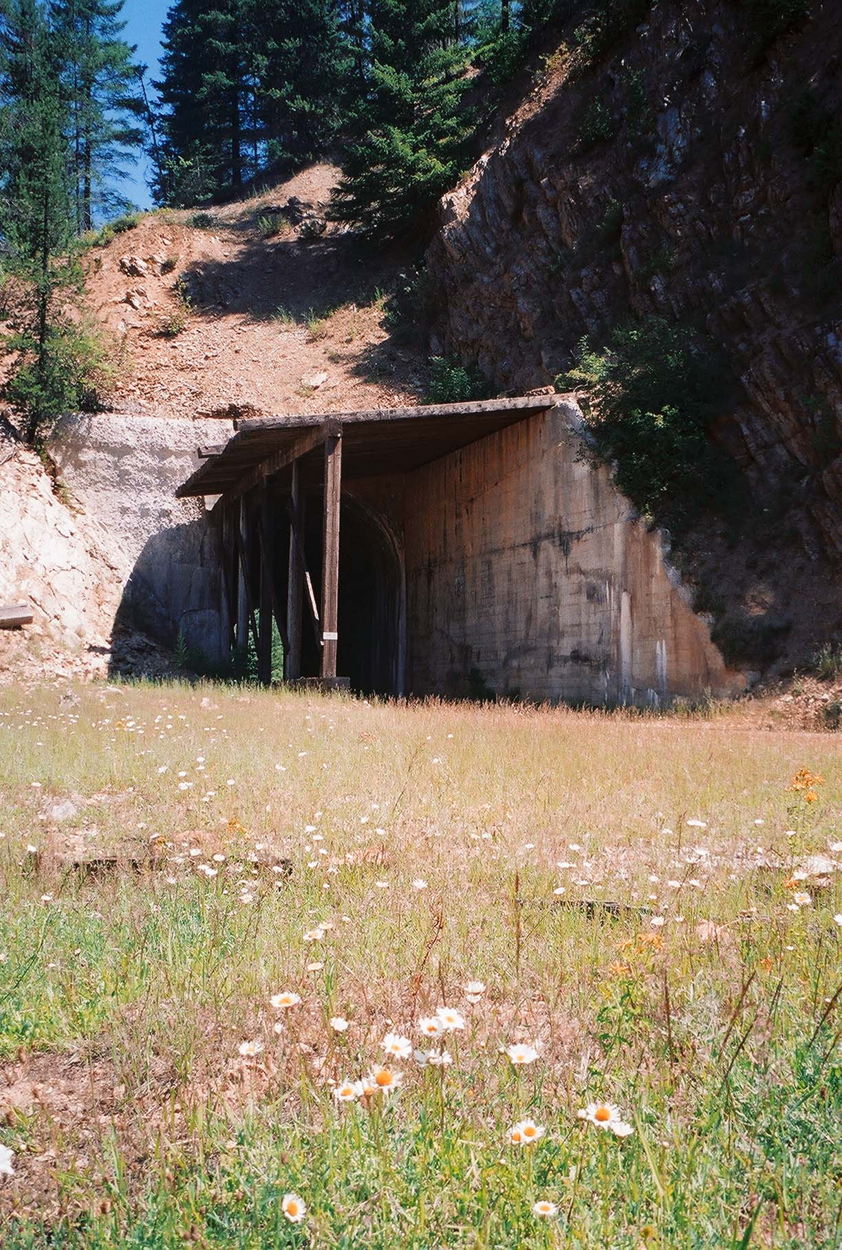 A Tunnel on Hiawatha