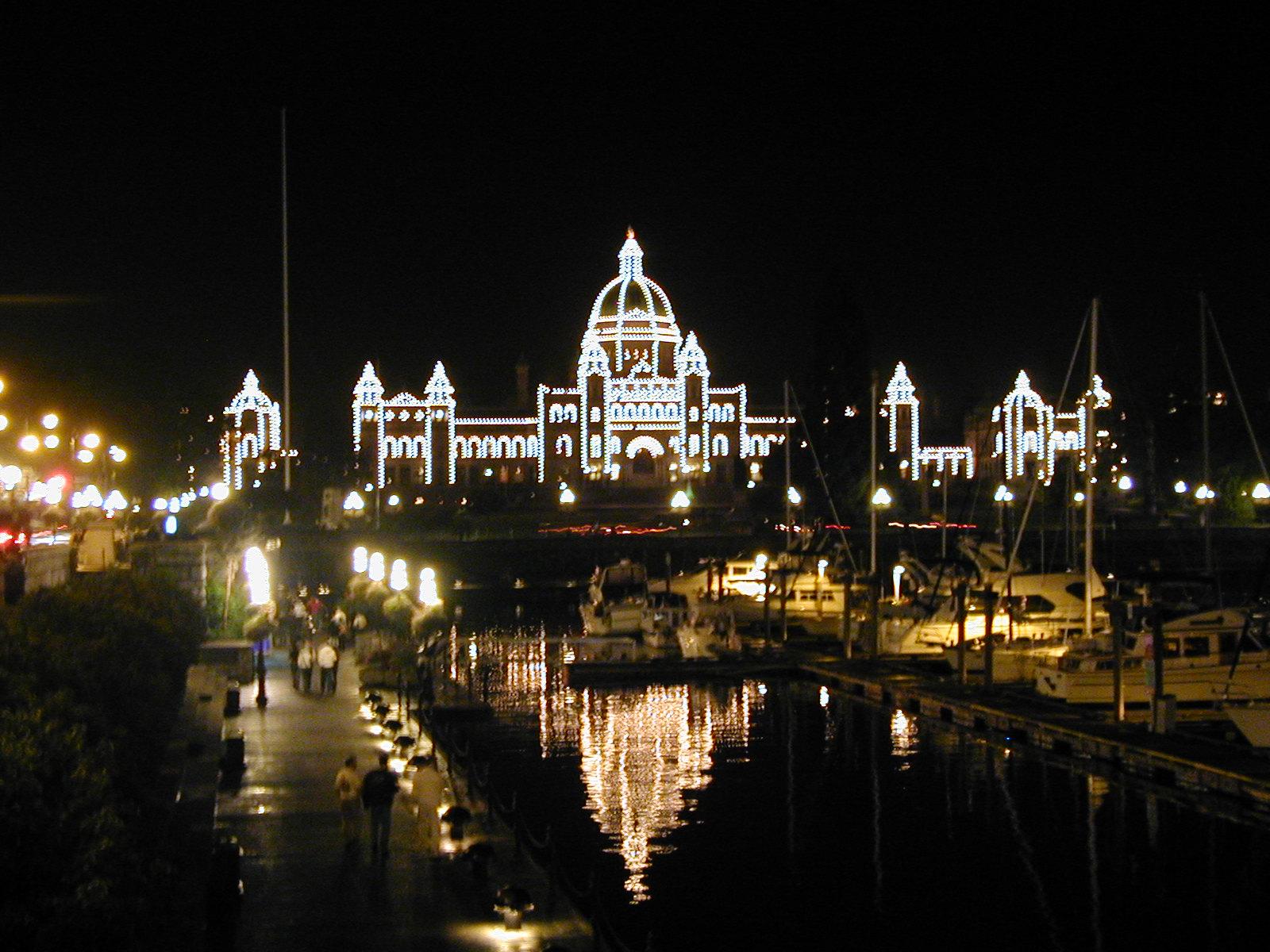 Parliament Buildings at Night