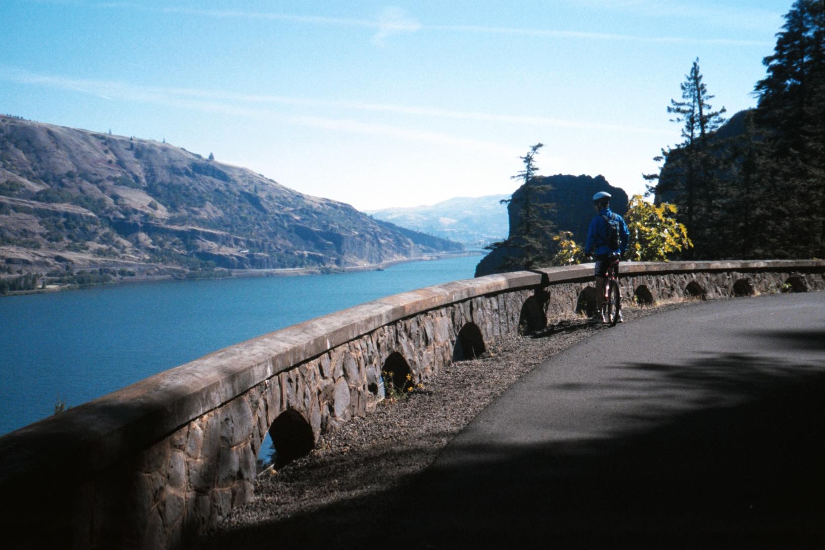 Biking the Historic Columbia River Trail