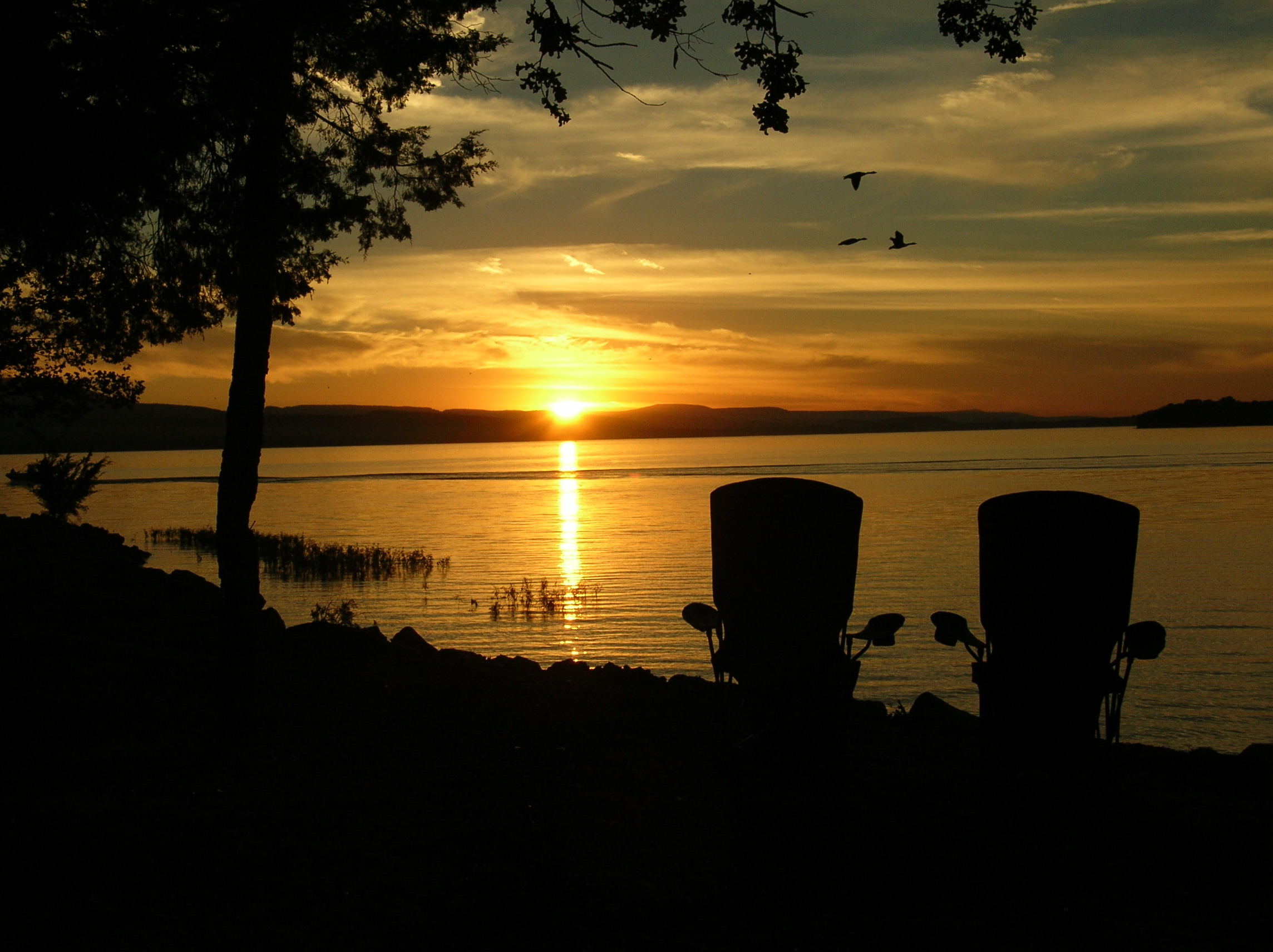 Sunset View from Campsite