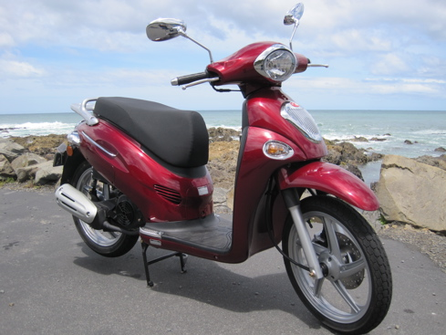My lovely scooter