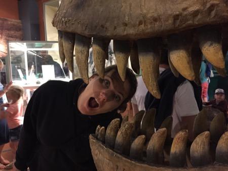 Dino museum.