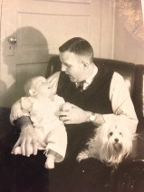 Dad with me