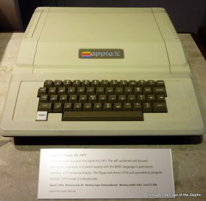 The 1977 Apple II computer