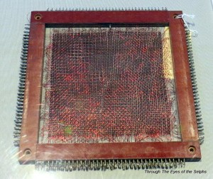 This is a typical 1977 memory module that would hold 8,000 characters