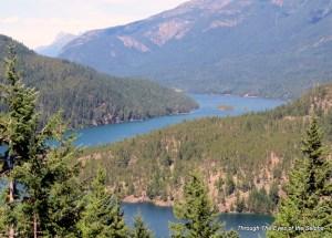 25 mile long Ross Lake