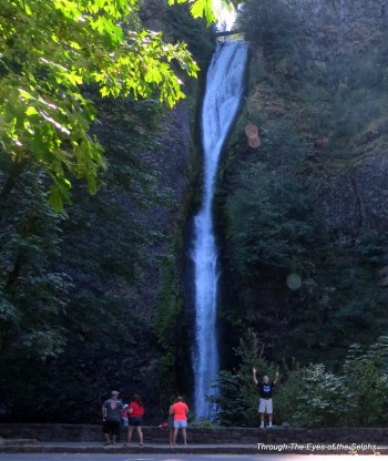 Can you find Bill at Horsetail Falls?