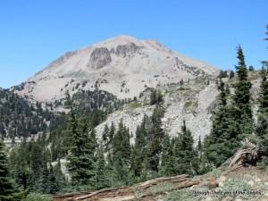 Lassen Peak from the Bumpass Hell trail