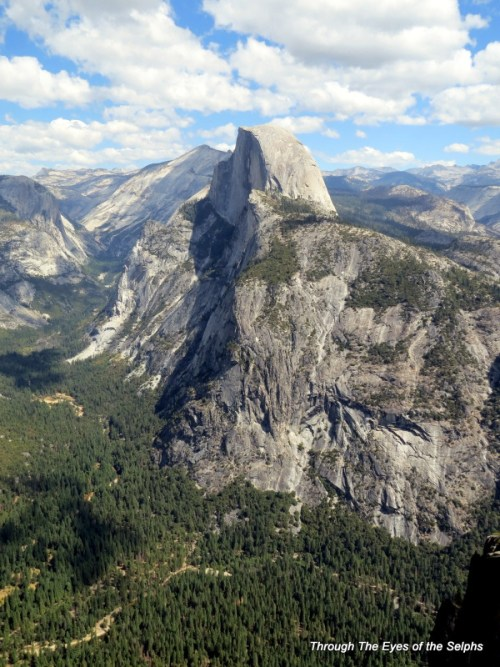 Half Dome is 8,842 FT