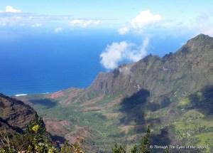 Kalepa Ridge from Kalalau Lookout