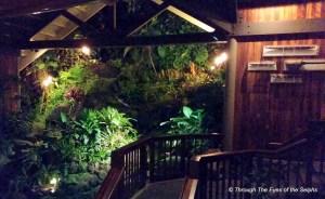 Duke's Restaurant with a tropical interior