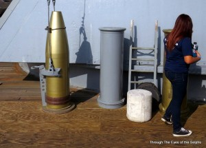 This is a 2,000 pound 16 inch shell