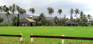 In 1946 the Keanae area was almost completely destroyed by a tsunami. The only building said to have been left standing was the 'Ihi'ihi o Iehowa Ona Kaua Church