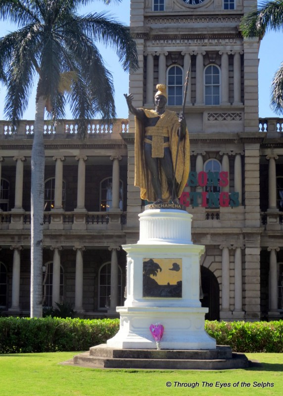 King Kamehameha the first