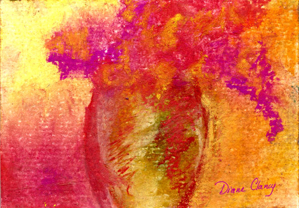 Glowing Reds - Art Card, ACEO Edition