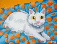 """Complimentary Daisy, Diane Dyal, Acrylic, 11""""x14"""", 2013"""