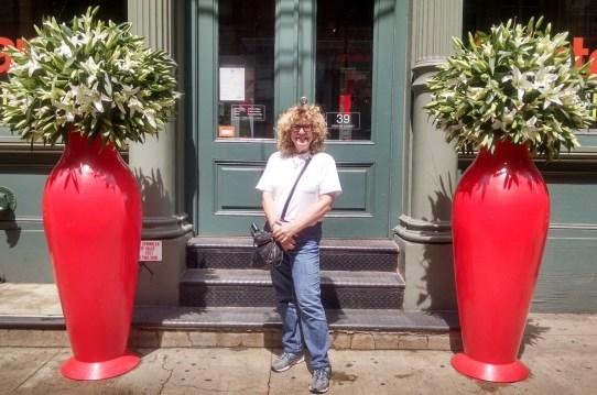 Soho Diane with Big Red Vases