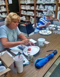 Jane and Margaret Painting