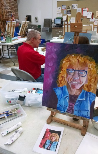 self-portrait-foreground-in-class