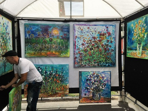 Impressionist Guy LeMoyne Chain