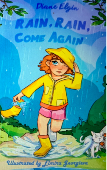 rain, rain, come again; book cover