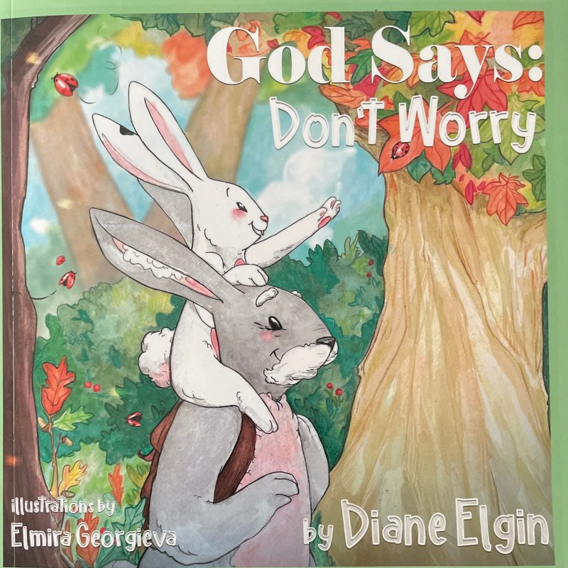 God Says Don't Worry Cover