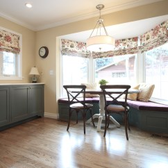Kitchen Nook Seating Cabinets Ikea Whole House Remodel In Crestmoor Park | Diane Gordon Design