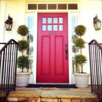 Red-Door-front-door-color-ideas - Diane Gottsman ...