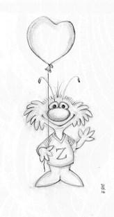 Zeek from Zark Greeting   Diane Gronas