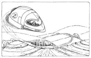 Zeek in Bean Rebellion - Inked sketch   Diane Gronas
