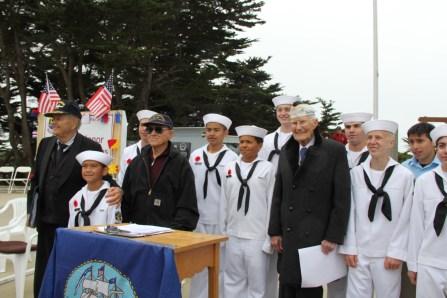 USS San Francisco Memorial Day Ceremony