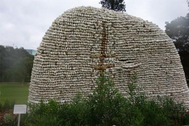Beehive sculpture