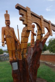 Campbell Town carving 1