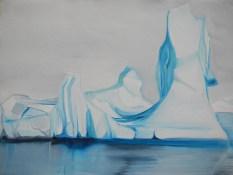 Iceberg Markham Sound FJL 18x24