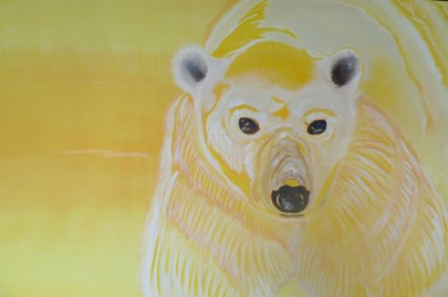 Spring Sunshine Polar Bear Churchill 40x60