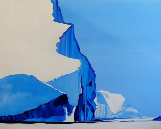 Bergs OnThe Way Ilulissat Western Greenland 48x60