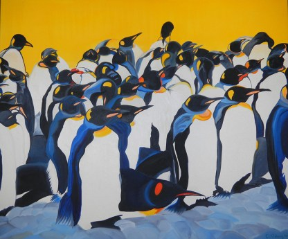Where's-Waldo-King-Penquins-Gold-Harbour--South-Georgia-40x48