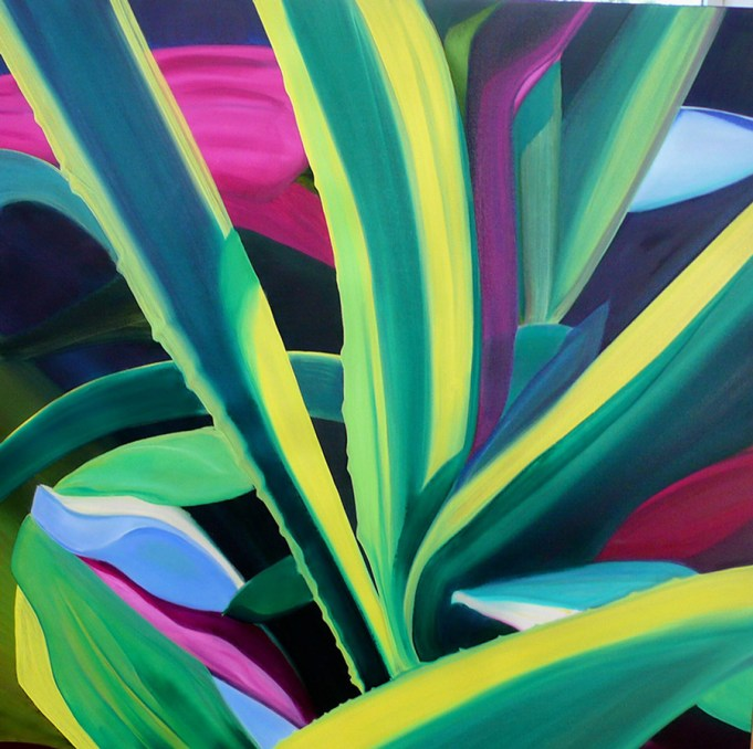 Abstract-Cactus-36x36