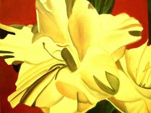 Cropped Gladiola 24x30