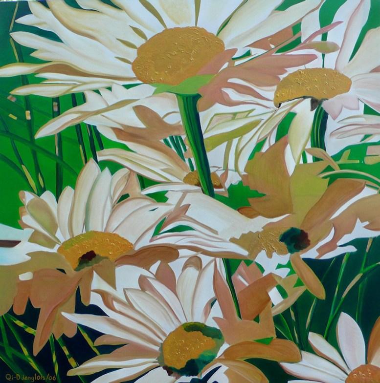 Delightful Daisies 48x48