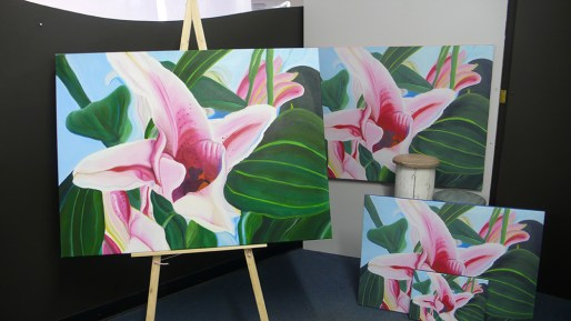 First-Flagworks-Exhibit-Twisting-Lillies-series