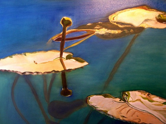 On-Golden-Pond-Moyie-Lake-40x50