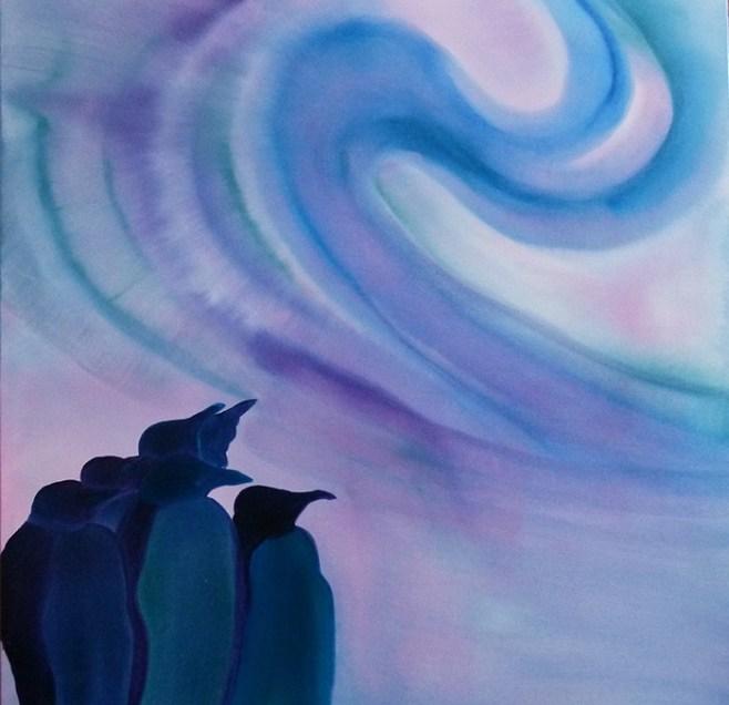Penguin-Southern-Lights-30x30