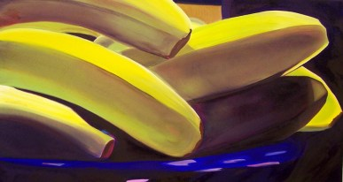 Reclining Bananas 12x24