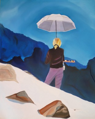 Take-My-Picture-But-Don't-Cut-My-Feet-Off-Ridge-Peak-Bugaboo-Glacier-16x20